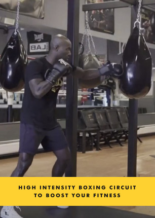 High Intensity Boxing Circuit to Boost your Fitness