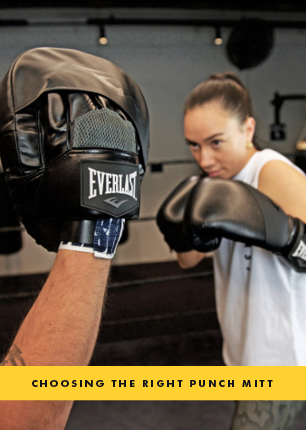 Choosing the right punch mitt